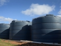 Industrial water tanks