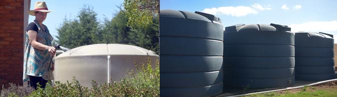 Rural water tanks