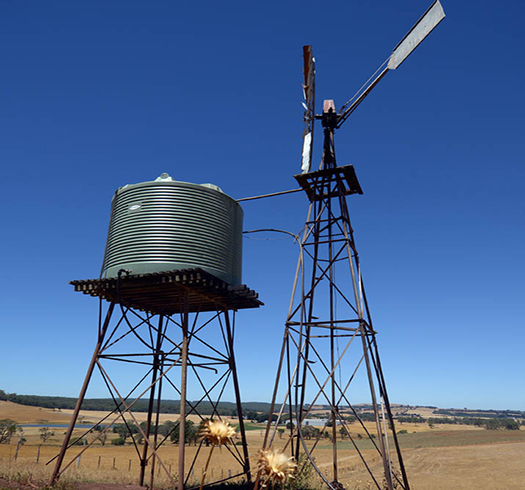 water-tank-next-to-windmill