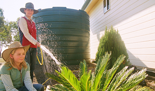 using-water-from-water-tank